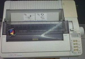 ремонт принтера CITIZEN GSX-240