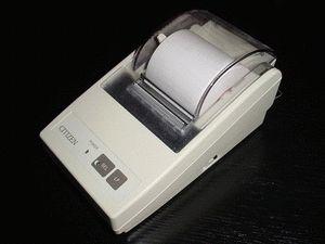ремонт принтера CITIZEN IDP3110