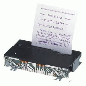 ремонт принтера CITIZEN MD-910