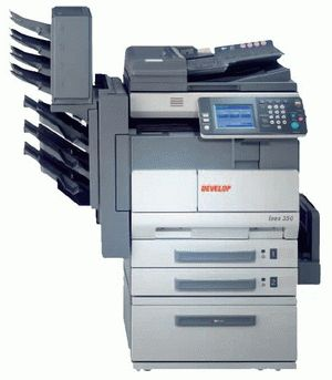 ремонт принтера DEVELOP INEO 350