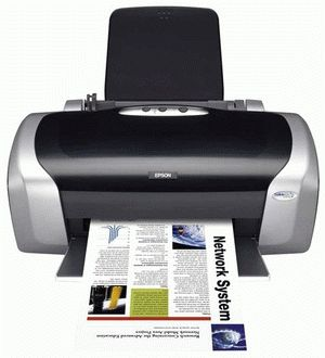 ремонт принтера EPSON STYLUS C87 PLUS
