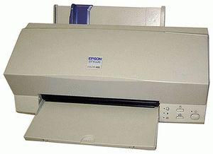 ремонт принтера EPSON STYLUS COLOR 460