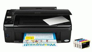 ремонт принтера EPSON STYLUS TX210