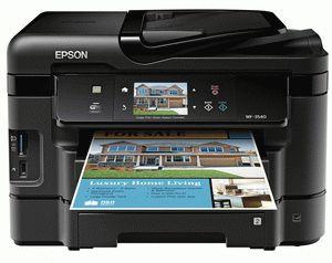 ремонт принтера EPSON WORKFORCE WF-3540 ALL-IN-ONE PRINTER