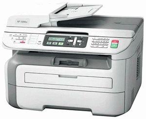 ремонт принтера GESTETNER AFICIO SP 1200S