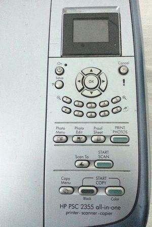 ремонт принтера HP PSC 2355P ALL-IN-ONE