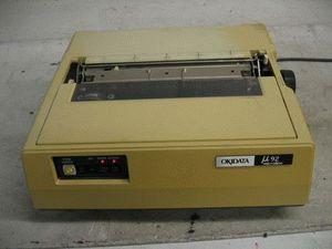 ремонт принтера OKI ML 92