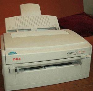 ремонт принтера OKI OKIPAGE 4W PLUS