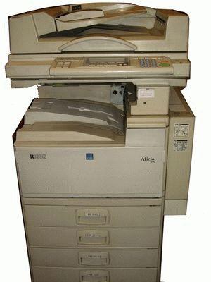 ремонт принтера RICOH AFICIO 450