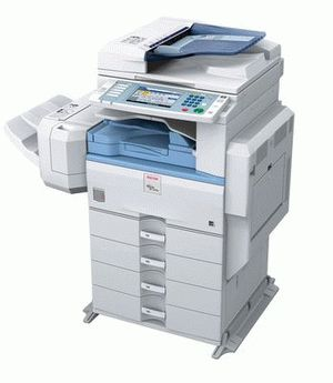 ремонт принтера RICOH AFICIO MP 2550B