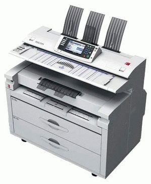 ремонт принтера RICOH AFICIO MP W5100
