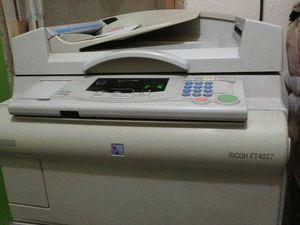ремонт принтера RICOH FT4027