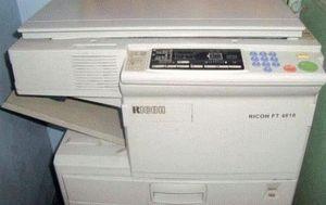 ремонт принтера RICOH FT4618