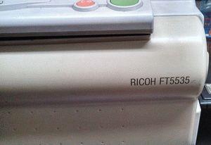 ремонт принтера RICOH FT5535