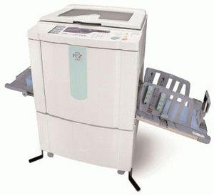 ремонт принтера RISO RZ 370