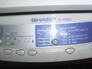 ремонт принтера SHARP AL-1551CS
