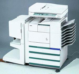 ремонт принтера SHARP DM-4551S