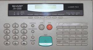 ремонт принтера SHARP FO-2600