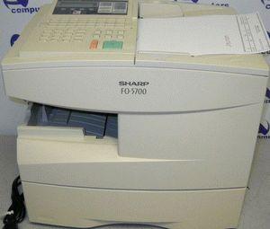 ремонт принтера SHARP FO-5700