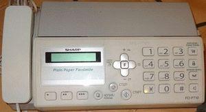 ремонт принтера SHARP FO-P710
