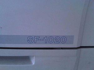 ремонт принтера SHARP SF-1020