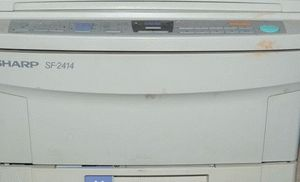 ремонт принтера SHARP SF-2414
