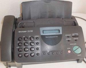 ремонт принтера SHARP UX-310