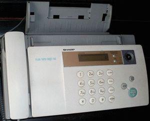 ремонт принтера SHARP UX-B20