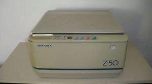 ремонт принтера SHARP Z-50