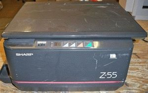 ремонт принтера SHARP Z-55