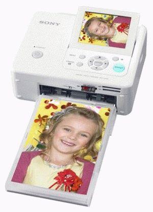 ремонт принтера SONY DPP-FP75