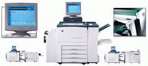 ремонт принтера XEROX DOCUPRINT 75
