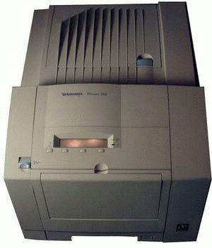 ремонт принтера XEROX PHASER 360