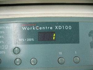 ремонт принтера XEROX WORKCENTRE XD100
