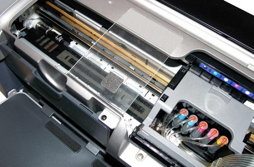 Epson - прочистка печатающей головки принтера