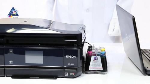 Как почистить сопла принтера epson