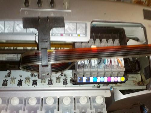 Как прочистить головку принтера epson