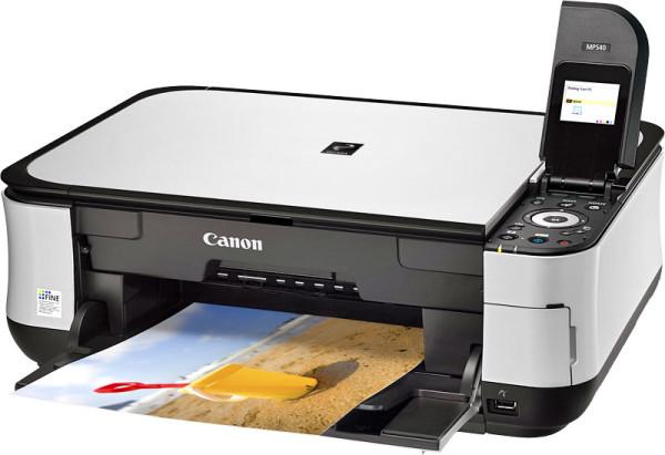 ноутбук не видит принтер canon