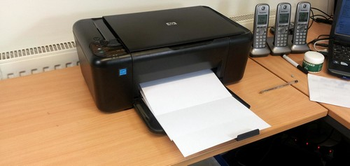 hp проблема с принтером или системой печати