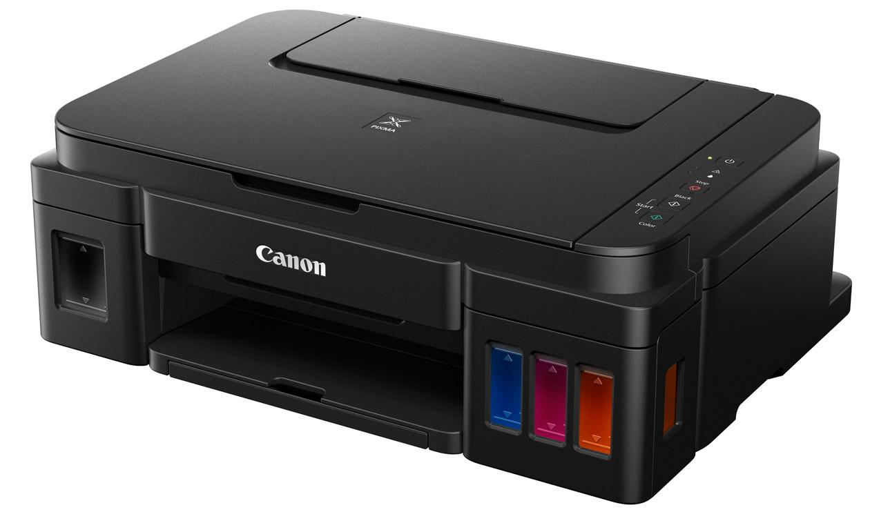 Как узнать сколько в принтере кэнон осталось краски
