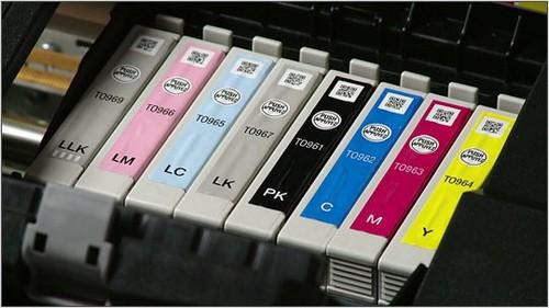 как проверить уровень чернил в принтере hp