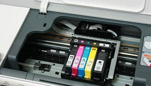 как заменить картридж в принтере epson