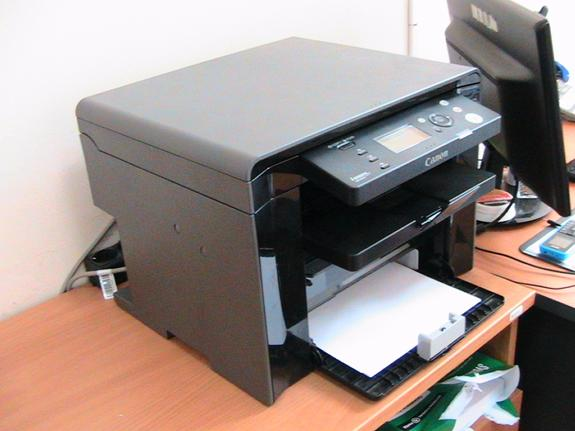 не работает сканер на принтере canon