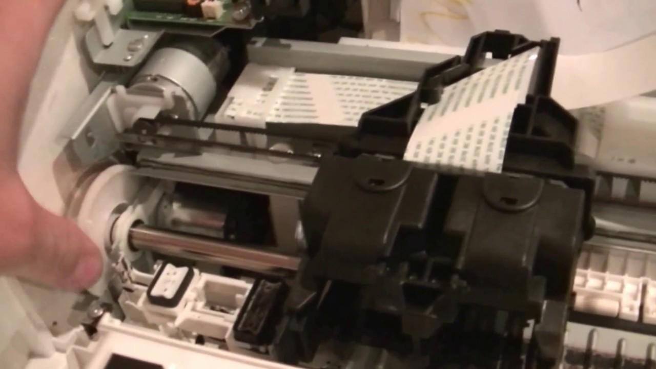 почему принтер кэнон не берет бумагу