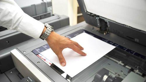 как отсканировать на принтере кэнон