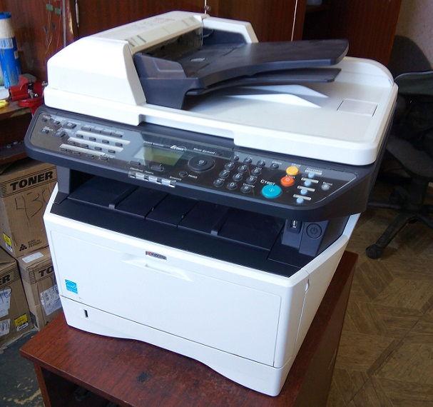 Oшибка c6000 на принтере Kyocera 2035dn