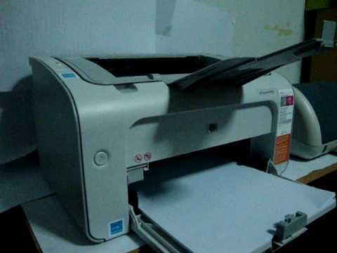 не печатает hp laserjet p1005