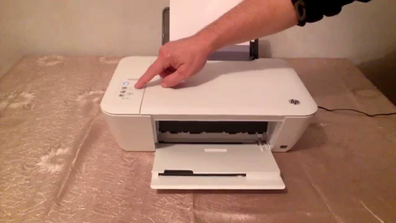 не печатает принтер hp deskjet 1510