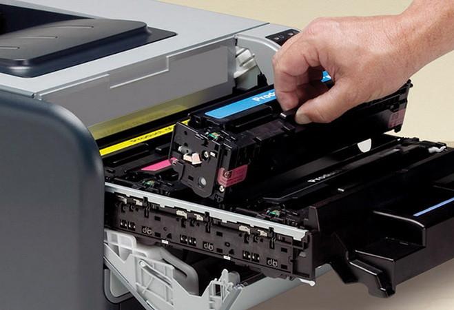 hp deskjet 5525 не печатает черным цветом