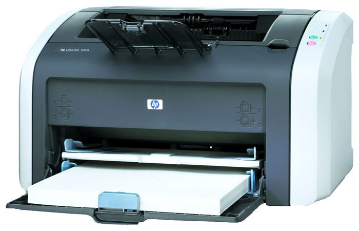 принтер hp laserjet 1010 не печатает что делать